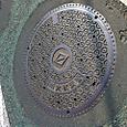 2011/10/08 神奈川県横浜市神奈川区 東白楽駅近く、上麻生道路、雨水放流管