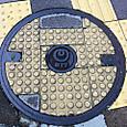 2011/11/20 10:52 神奈川県横浜市神奈川区 神奈川新町 NTT点字ブロック付き